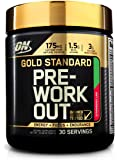 OPTIMUM NUTRITION GOLD STANDARD Pre-Workout with Creatine, Beta-Alanine, and Caffeine for Energy, Flavor: Strawberry Lime, 30 Servings