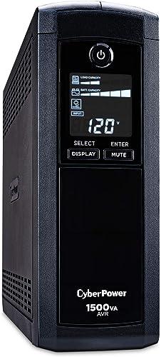 CyberPower CP1500AVR LCD UPS System