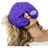 MyCare Face Mask (with Washable Cover) Hot Cold Compress Therapy, Natural Reusable Relief for Migraine, Tension, Stress, Sinu