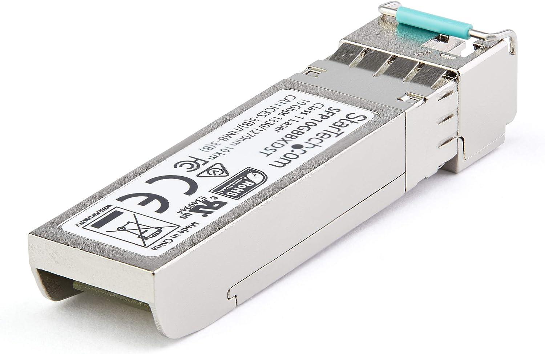 10GBase-BX40 Fiber Optical Transceiver Upstream StarTech.com Dell EMC SFP-10G-BX40-U Compatible SFP SFP10GBX40US Module