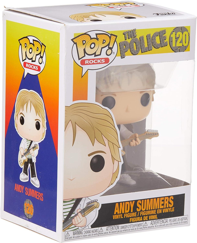 THE POLICE ROCKS FUNKO POP ANDY SUMMERS 120 40088 VINYL FIGURE IN STOCK
