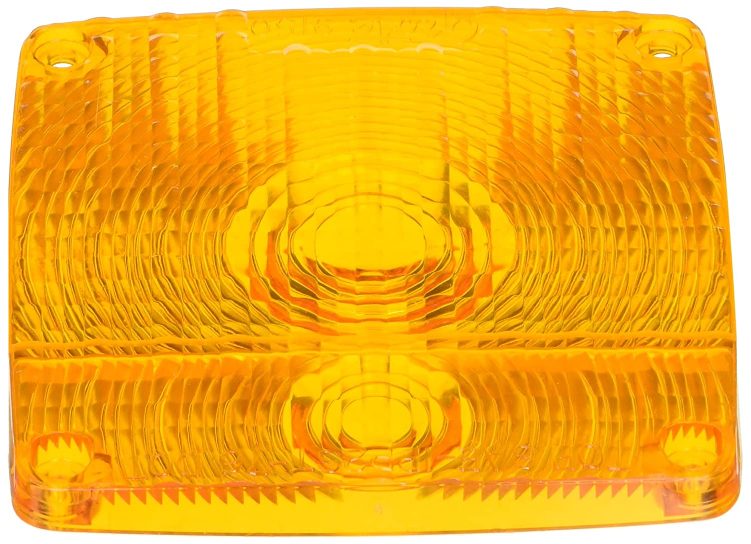 Pedestal Lens Grote 91503 Yellow Stop Tail Turn Replacement Lenses