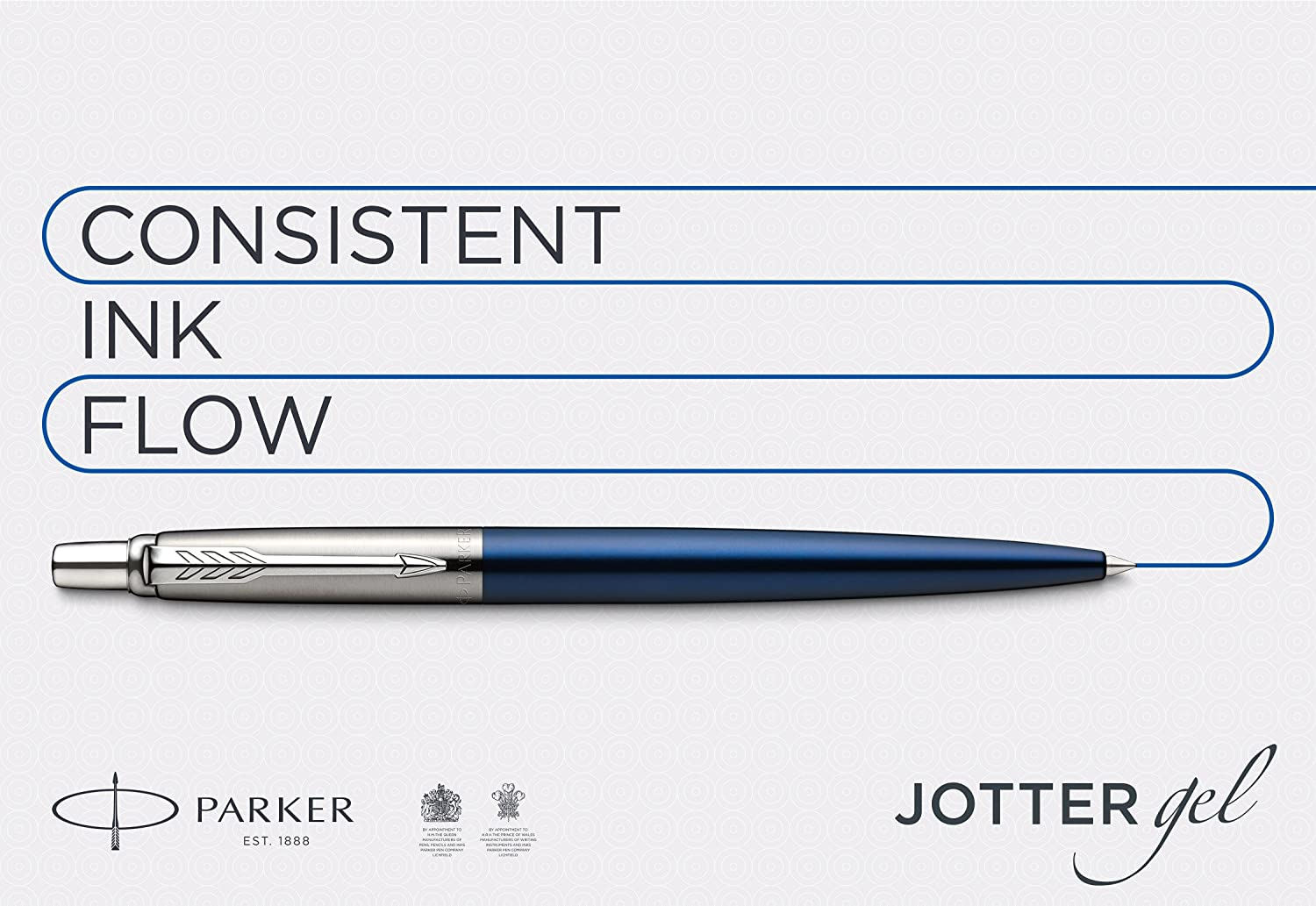 Amazon.com: Gel Pen PARKER Jotter (Stainless Steel with ...