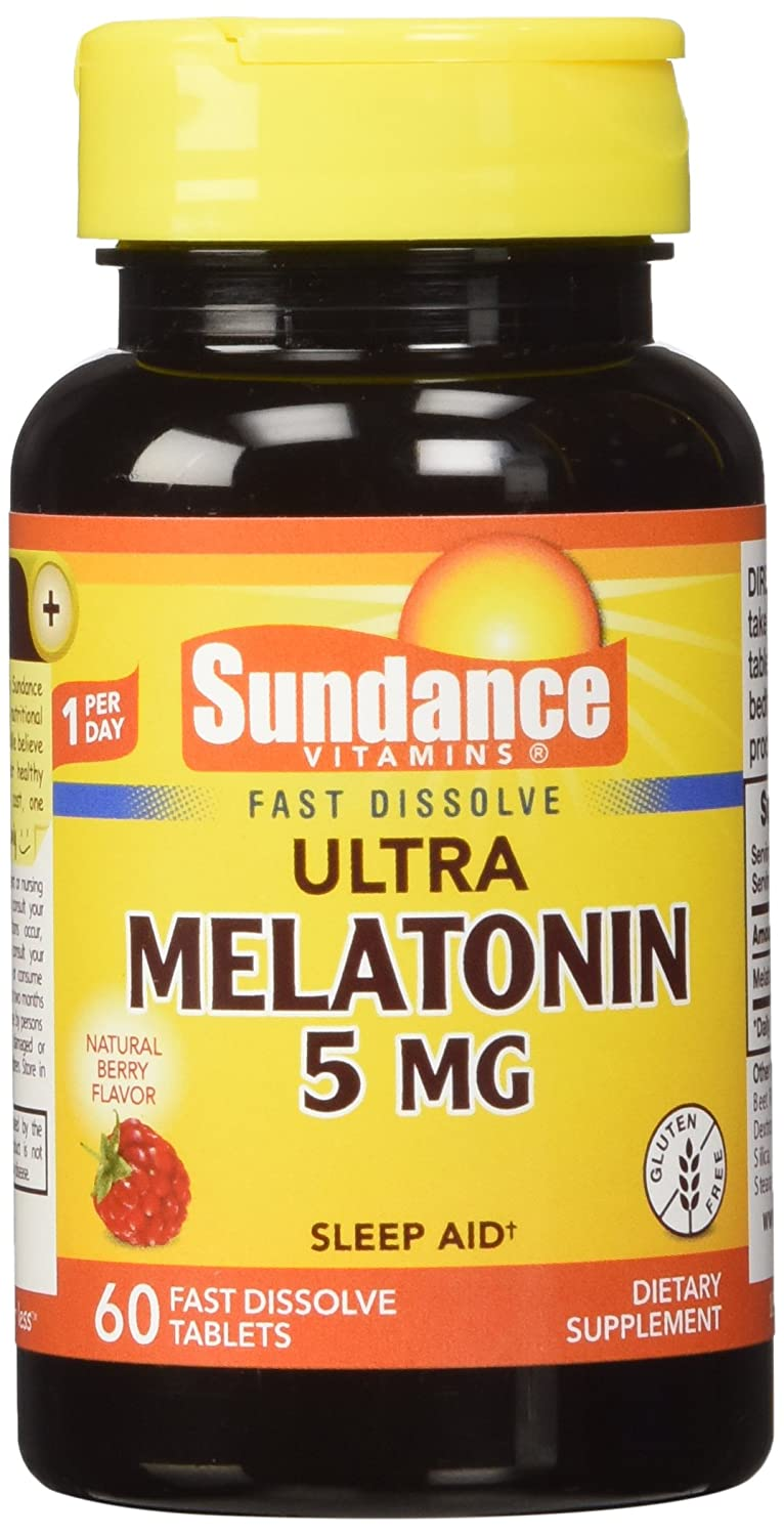 Amazon.com: Sundance 5 Mg Melatonin Tablets, 60 Count: Health & Personal Care