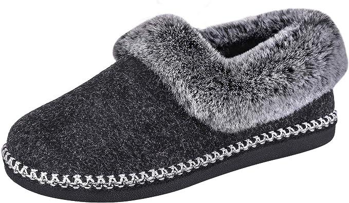EverFoams Women's Luxury Wool Slippers