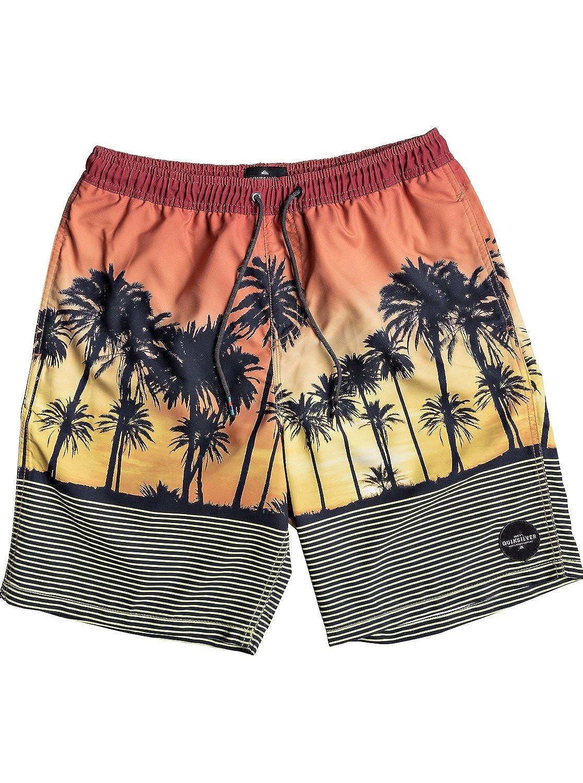 ddb92b1f9b Amazon.com: Quiksilver Boys' Sunset Vibes Volley Youth Short: Clothing