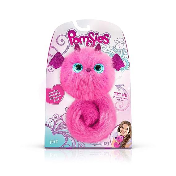 Pomsies Zoey Dragon, Pink/Magenta