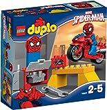 LEGO Duplo Super Heroes 10607 Il Laboratorio della Ragno-bici di Spider-Man