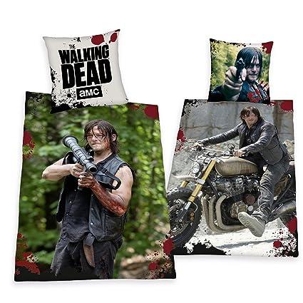 ropa de cama Herding The Walking Dead Daryl Dixon Modelo Especial 135 x 200cm Regalo Nuevo