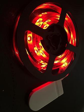 60 AMBER LED 1m long CR2032 Battery Powered Waterproof LED Light Strip