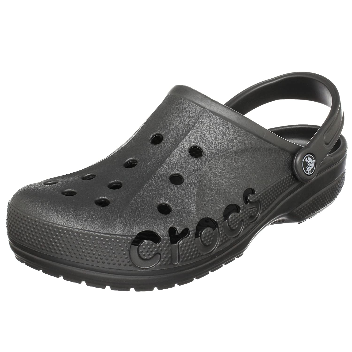 fded7cf8cd3a crocs Unisex Baya Black Rubber Clogs and Mules  Buy Online at Low Prices in  India - Amazon.in