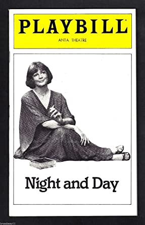 Maggie Smith Night And Day Paul Hecht Tom Stoppard 1980 Broadway