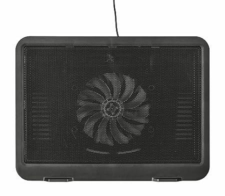 Trust Ziva - Soporte de refrigeración para Ordenadores portátiles, Color Negro: Amazon.es: Informática