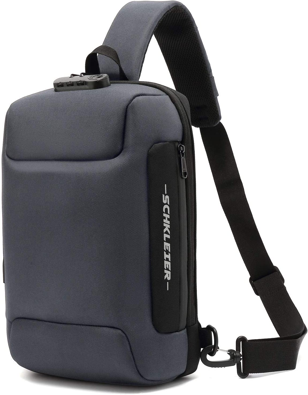 Dexter Blood Slides Minimal Backpack Daypack Rucksack Laptop Shoulder Bag with USB Charging Port