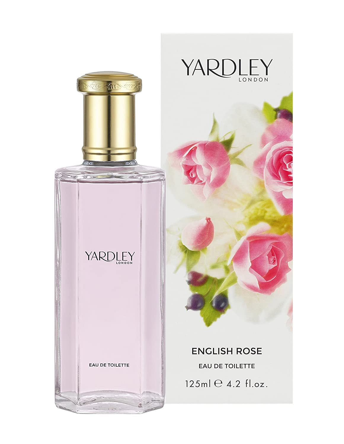 Yardley By Yardley English Rose Edt Spray 4.2 Oz (new Packaging) Y6320016-3