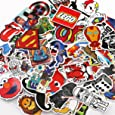 UTSAUTO Graffiti Stickers Decals Pack of 100 pcs Car Stickers Motorcycle Bicycle Skateboard Luggage Phone Pad Laptop Stickers And Bumper Patches Decals Waterproof (Type 1)
