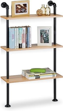 Wandregal Hängeregal Bücherregal Gewürzregal Küchenregal Badregal 60*14*5,5cm