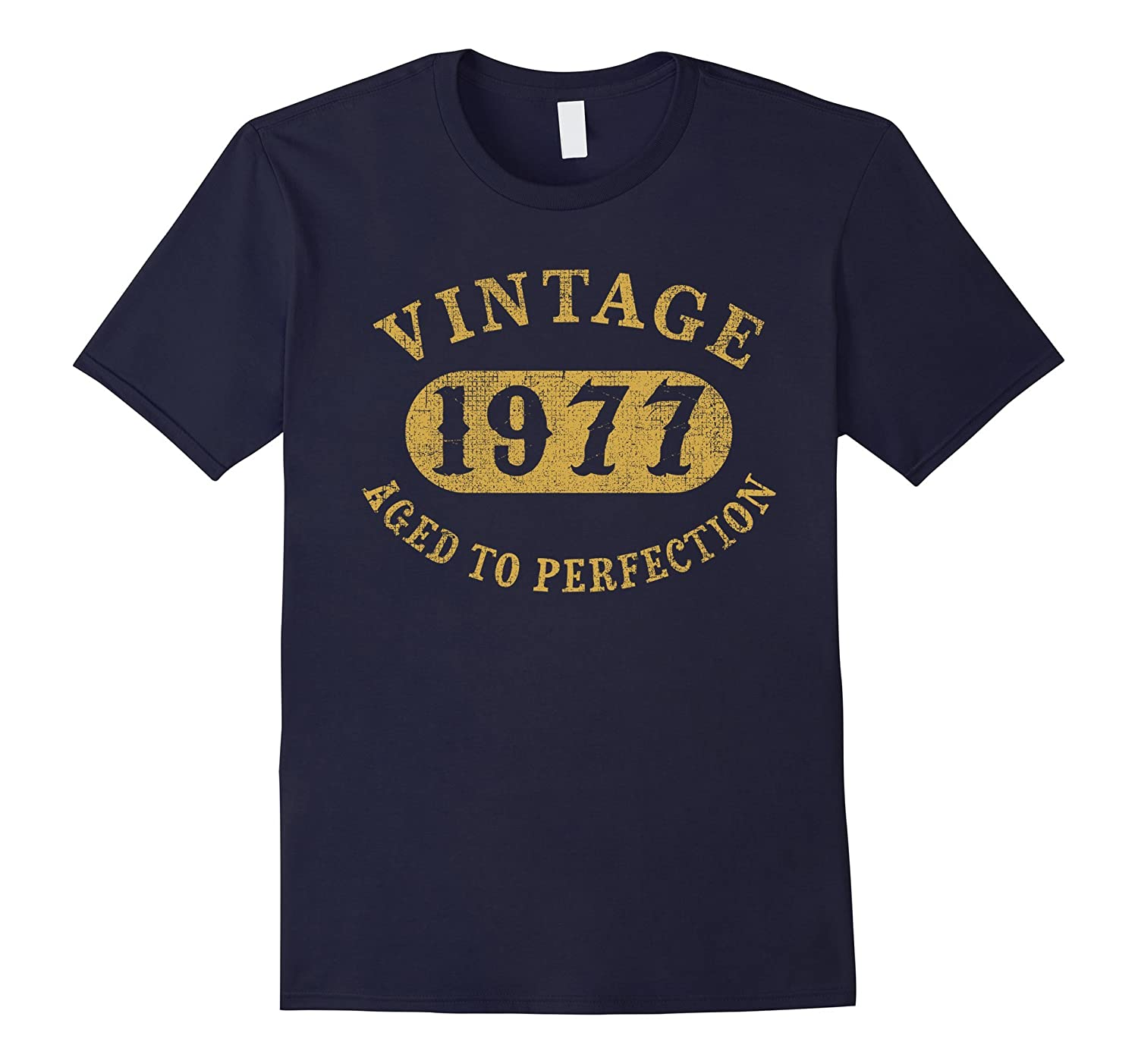 40 years old 40th Birthday B-day Gift Vintage 1977 T-Shirt-TD