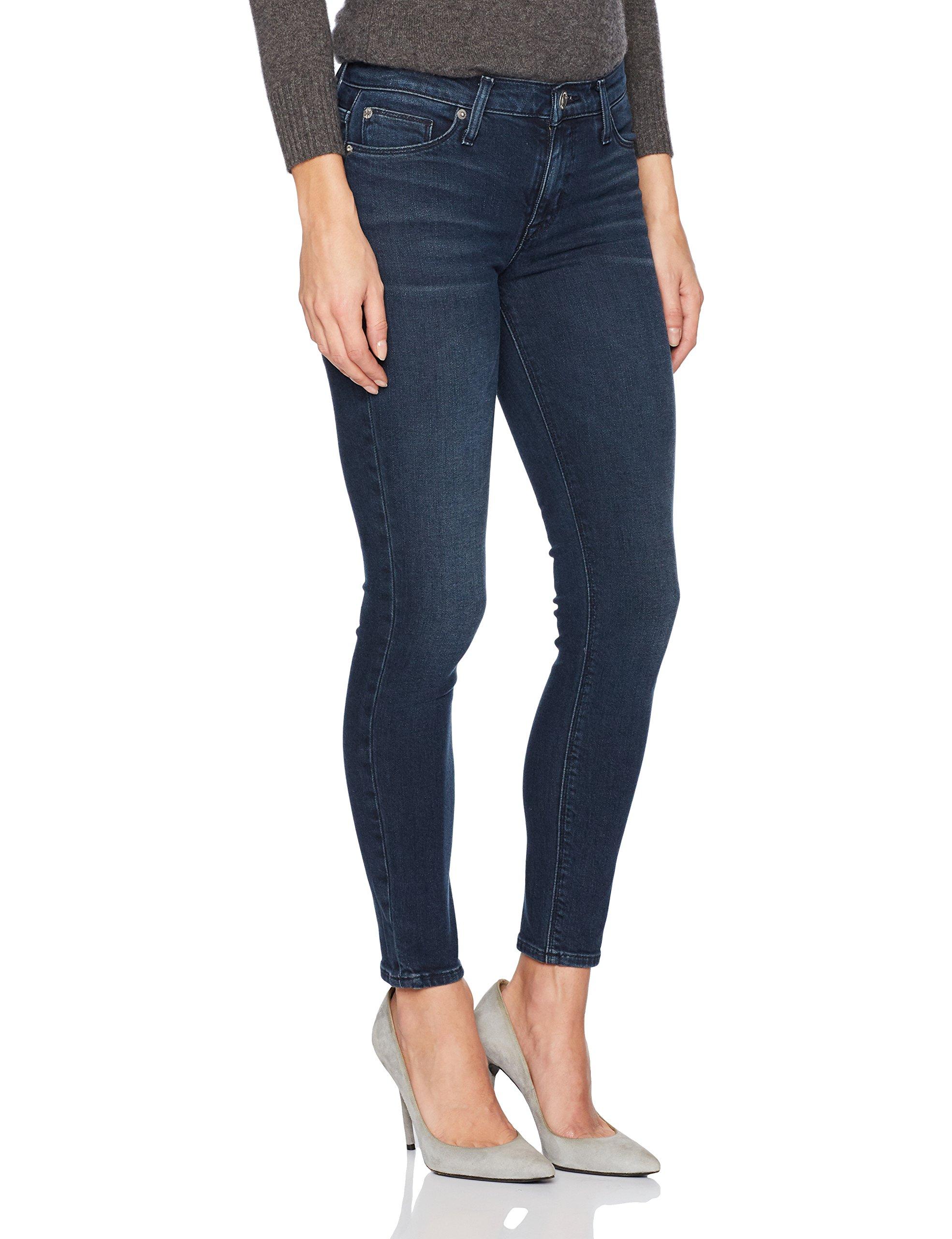 Hudson Jeans Women's Nico Midrise Super Skinny Ankle Jeans, Love Lock, 26