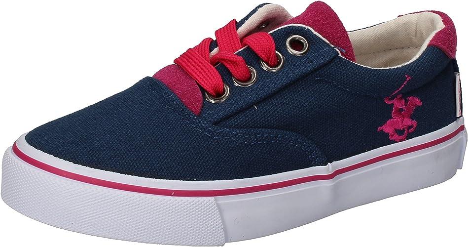 BEVERLY HILLS POLO CLUB - Zapatillas de Lona para niña Rosa ...