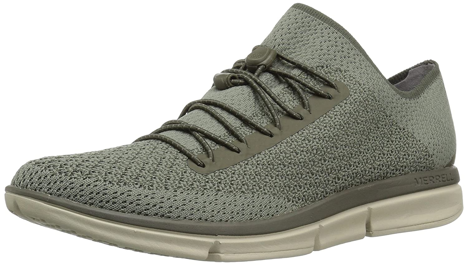 Merrell Women's Zoe Sojourn Lace Knit Q2 Sneaker B079DH1Y2S 10 B(M) US|Dusty Olive