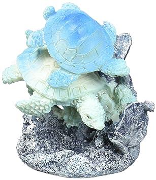 Pen Plax rra2ca natación tortugas Acuario Adorno: Amazon.es: Productos para mascotas