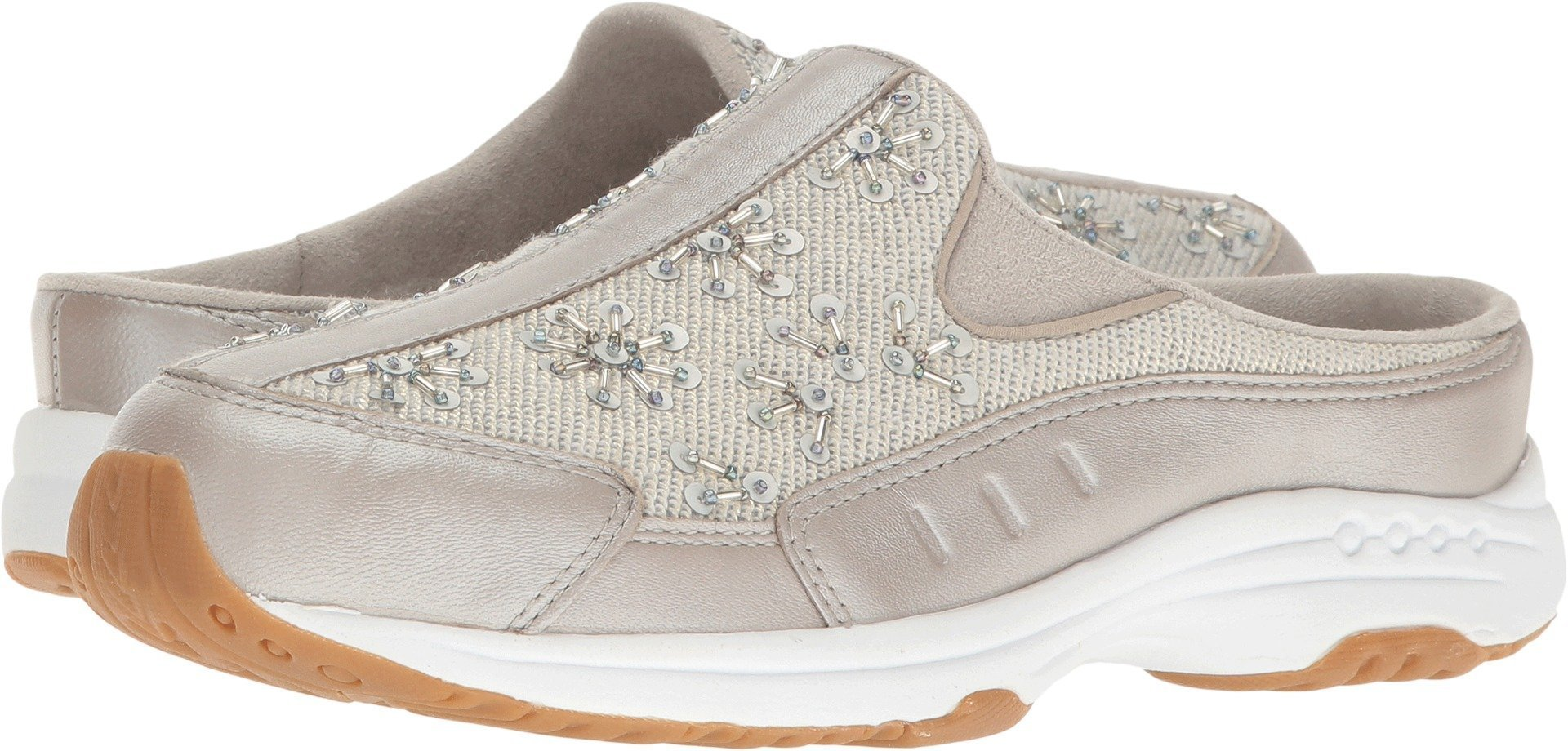 Easy Spirit Women's Travel Jewel Silver/Light Gold Leather Shoe