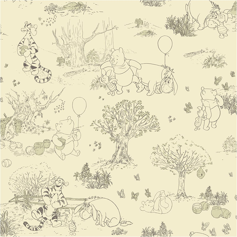 Amazon Com York Wallcoverings Dk5842smp Disney Kids Pooh