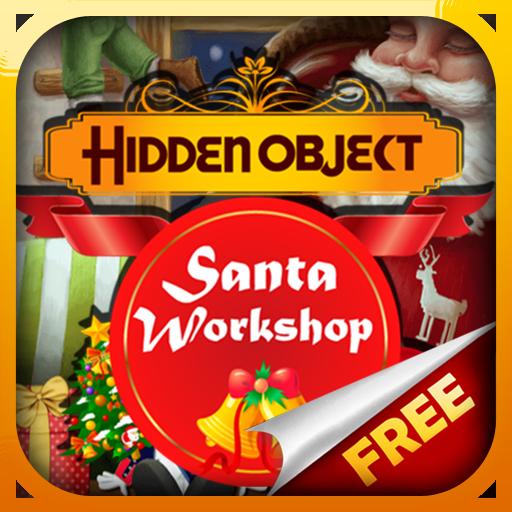 Hidden Object Santa Workshop Free