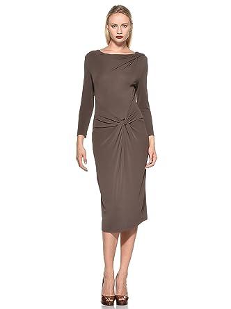 Kleid braun 48