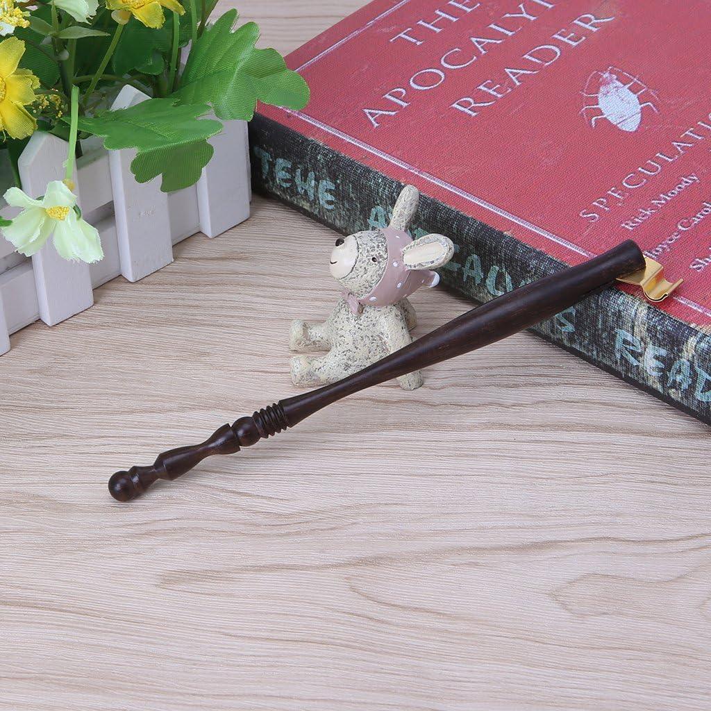 Xdodnev Wood English Oblique Calligraphy Dip Pen Nib Holder Antique Fountain Dip Pen