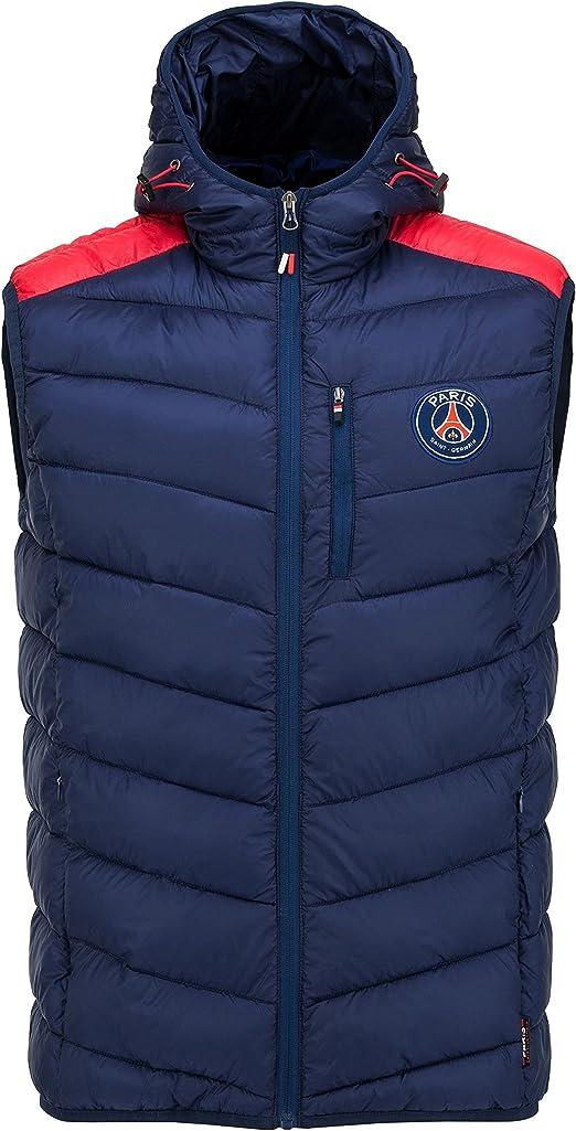 Paris Saint-Germain Daunenjacke offizielle Kollektion /ärmellos PSG Kindergr/ö/ße Jungen