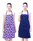 Waterproof cotton kitchen aprons pack of 2