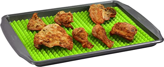 Healthy Silicone Baking Sheet Non-Stick Cooking Mat Oven Tray Liner Set of 2 New