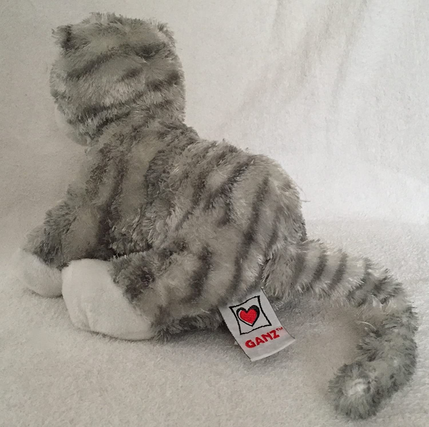 Amazon.com: Webkinz Plush Stuffed Animal Sterling Cheeky Cat: Toys & Games