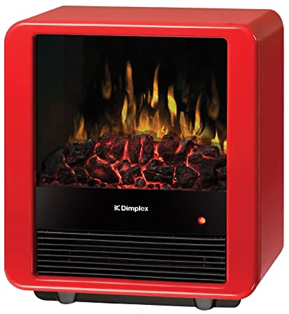 Amazoncom Dimplex Mini Cube Electric Stove Dmcs13r Red Home