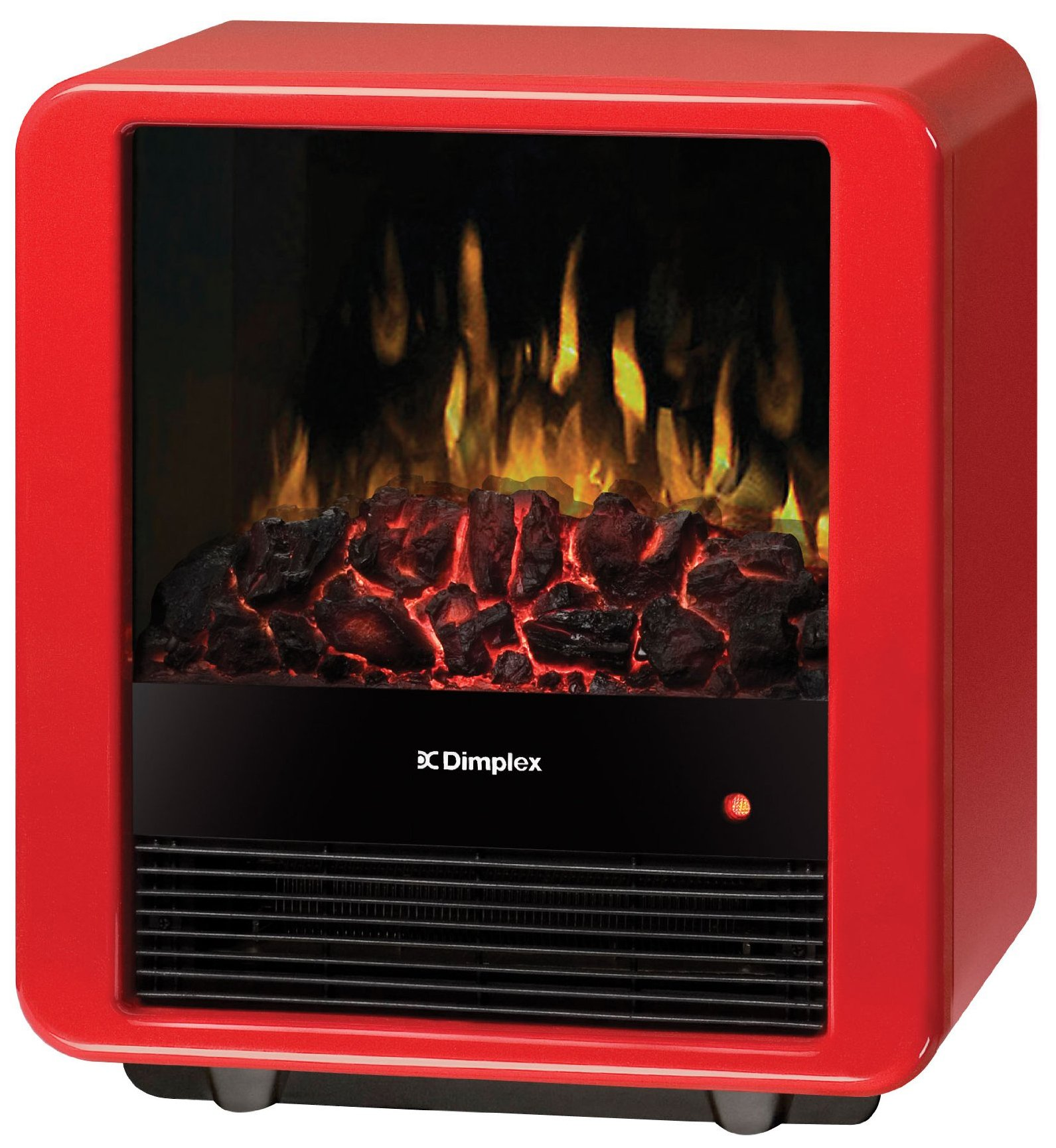Dimplex Mini Cube Electric Stove, DMCS13R, Red by Dimplex