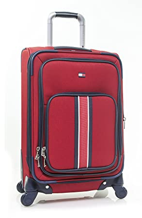 Tommy Hilfiger Signature Solid 20 Expandable Spinner, red