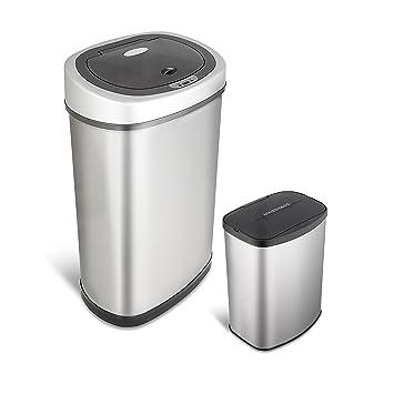 Amazon.Com: Nine Stars 13.2 & 2.1-Gallon Touchless Automatic
