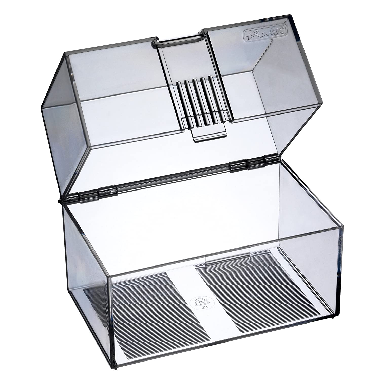 Herlitz 1907021Boîte de rangement pour 300cartes A7 en plastique transparent