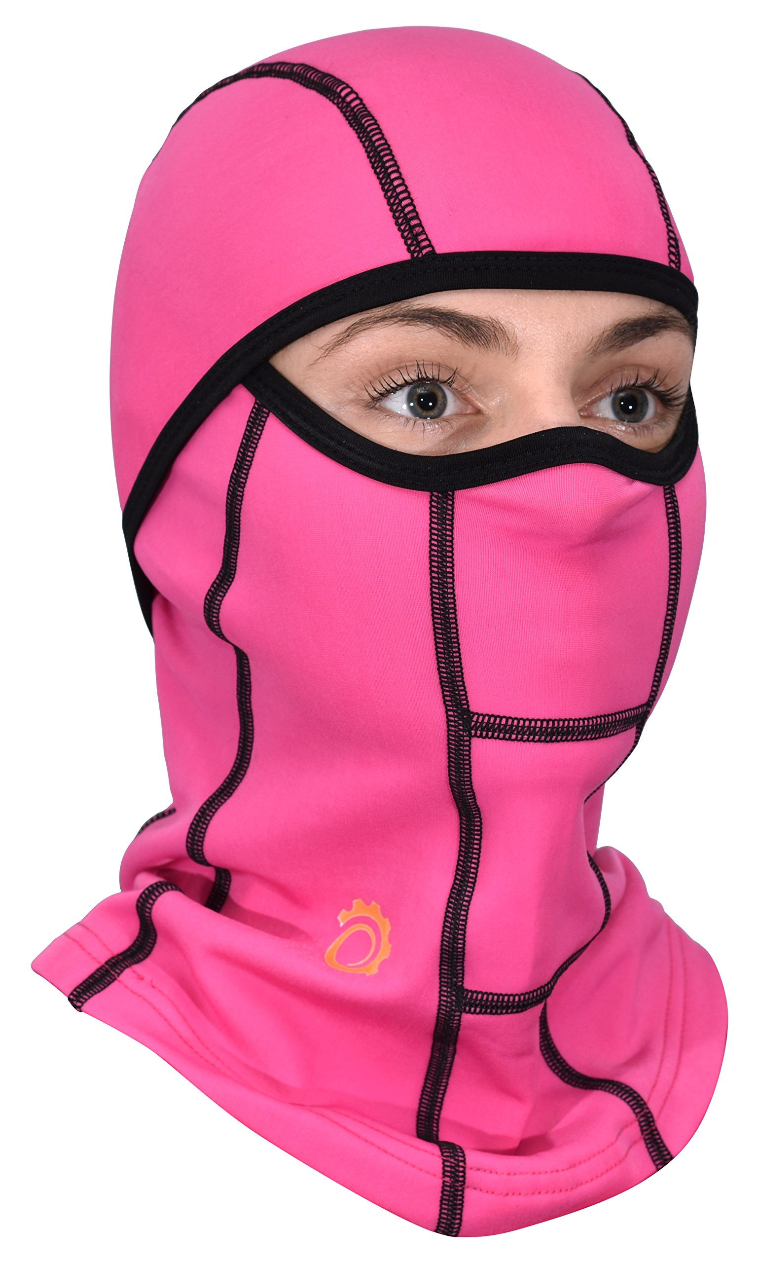 Balaclava Ski Mask and FREE Gift, GearTOP Sports and Motorcycle Biking Accessories #1 Top Pink Balaclava Bicycle Helmet Liner