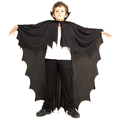 Rubie's Costume Co Vampire Cape Child Costume, Black, One Size: Toys & Games