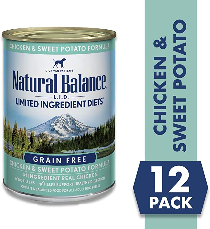 Natural Balance Limited Ingredients Wet Dog Food - The Best Wet Dog Food for Digestive Problems