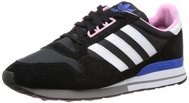 adidas Originals Zx 500 Og W Textile, Baskets mode femme - Bleu (Black 1/Running White Ftw/Satellite), 43 1/3 EU