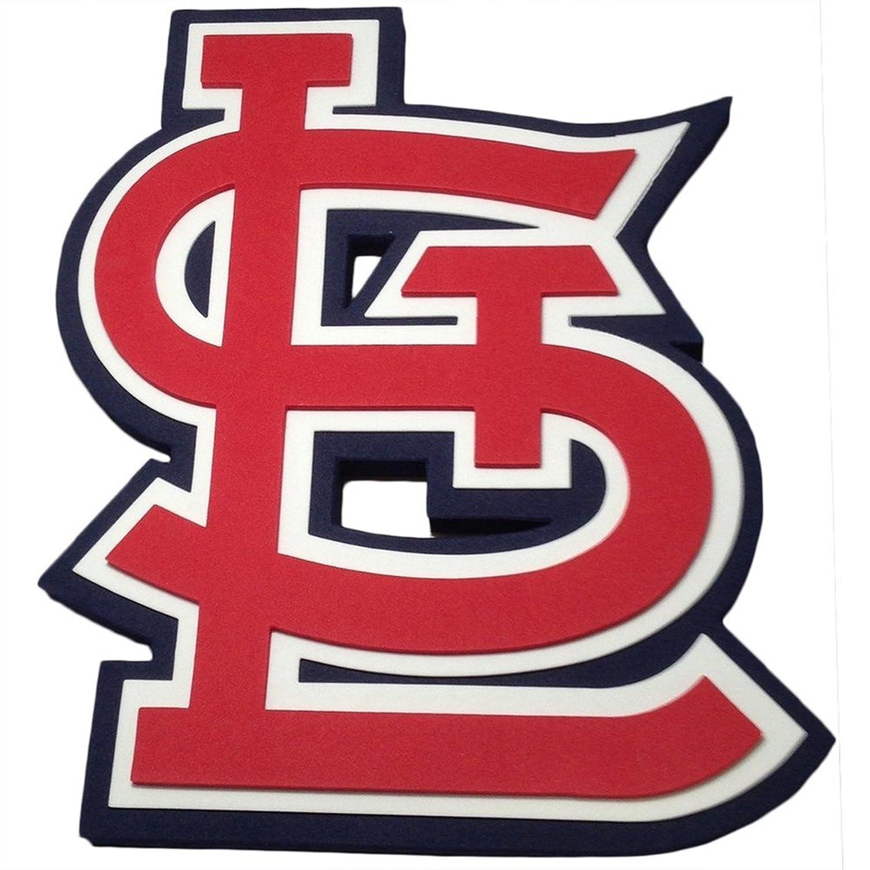 amazon com foam fanatics st louis cardinals foam logo sign home