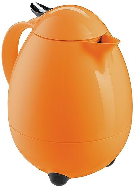 Leifheit 28438 7018-Termo, Capacidad de 1 l, Color, Naranja Atardecer,
