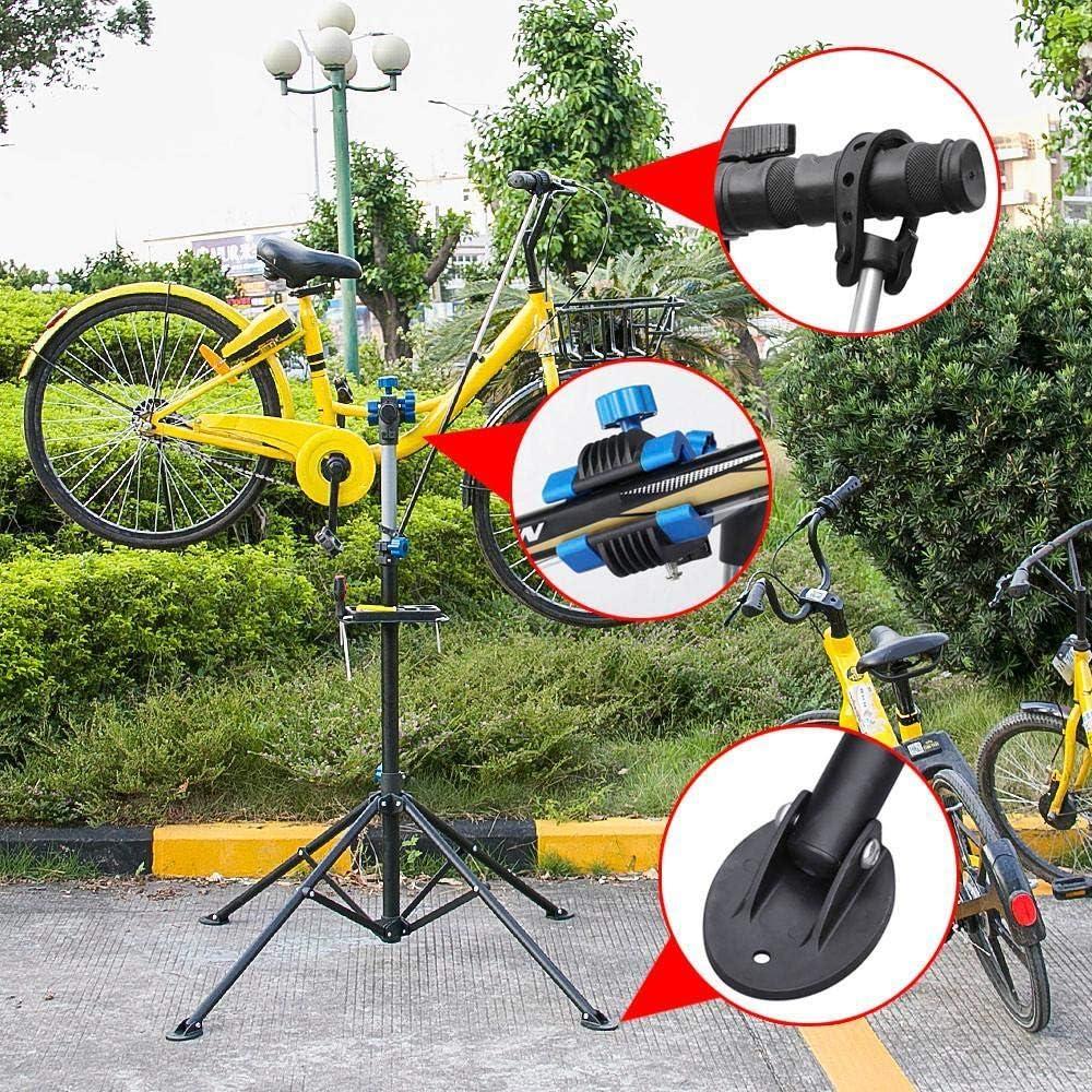Yaheetech Soporte de Reparación de Bicicleta Caballete Plegable ...