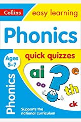Phonics Quick Quizzes Ages 5-7: Prepare for school with easy home learning (Collins Easy Learning KS1) Kindle Edition