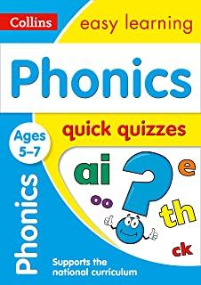 Phonics Ages 5-6: New Edition (Collins Easy Learning KS1): Amazon.co ...
