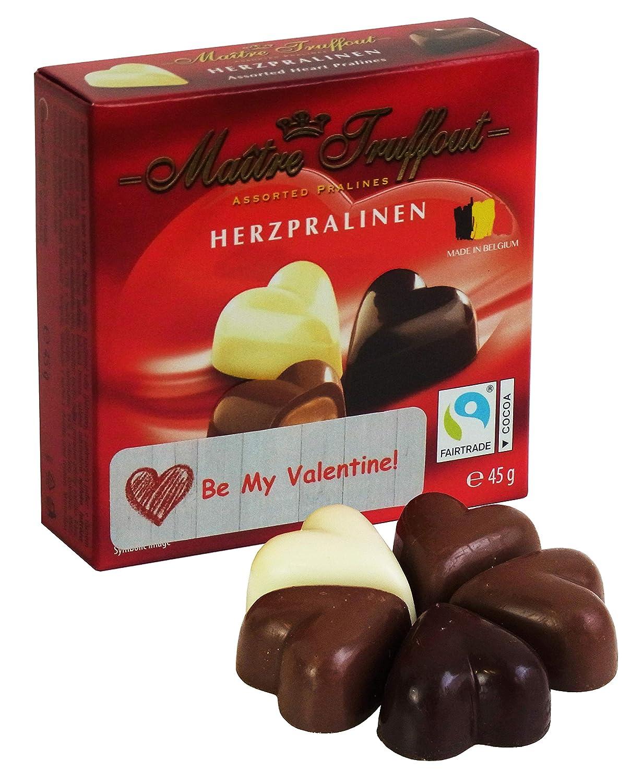 Deliciosos bombones de corazon